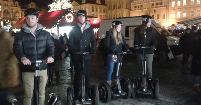 prague segway by night